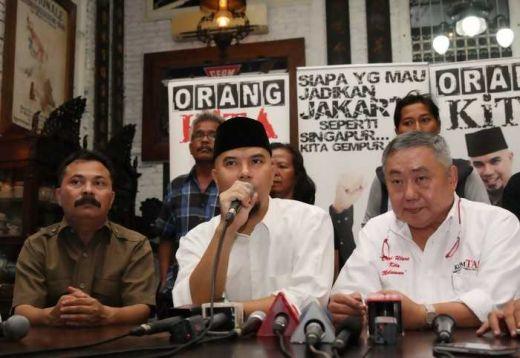 Dukung Rizal Ramli - Sandiaga Uno, Ahmad Dhani Deklarasikan Orang Kita