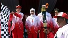 Genderang Mulai Ditabuh, Menko PMK Pimpin Upacara Pelepasan Kirab Obor Api PON Jabar 2016