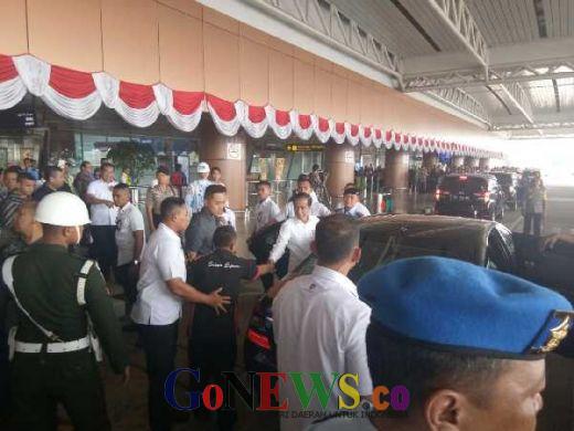 Jokowi Tiba di Kalbar, Kualitas Udara Kota Pontianak Tidak Sehat dan Kabut Asap