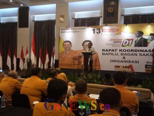 Dengan Kerja Keras, OSO Yakin Target Hanura Menang 3 Besar di Pemilu 2019 Tercapai