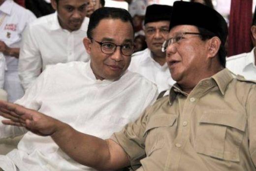 Sambutan Prabowo untuk Anies Baswedan