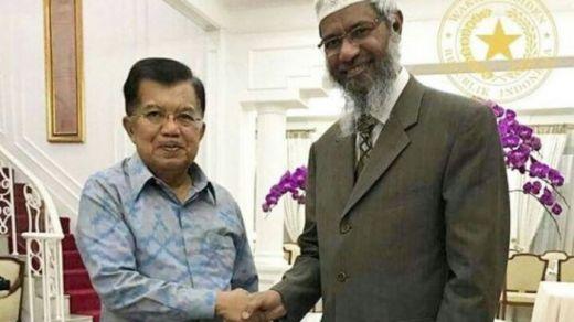 Setwapres Akui Adanya Pertemuan Jusuf Kalla dengan Dr Zakir Naik