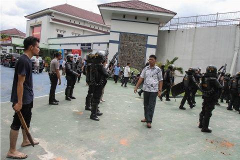 Polda Sumut Gelar Razia Buru Tahanan yang Kabur dari Pekanbaru