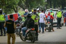 Jangankan Mudik, Sekedar Mau Beli Baju Lebaran Warga Kabupaten Juga Tak Boleh Masuk Pekanbaru