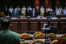 Rapat Paripurna, DPD Desak Pemerintah Tak Gentar dengan Teroris Papua