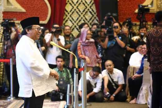 Buka Bersama Jokowi, Oesman Sapta: Pak Wiranto Ketua Penasehat Saya, Itu Sesuai Hati Nurani