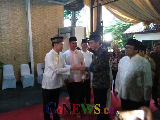 Jokowi dan Petinggi Negara Buka Bersama di Rumah Ketua DPD Oesman Sapta