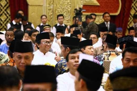 Didaulat Ceramah Buka Bersama di Kediaman Oesman Sapta, Said Aqil Siraj: Gamis Jangan Dibuat Demo