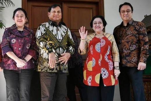 Didampingi Prananda, Megawati akan Resmikan Patung Bung Karno di Kantor Prabowo
