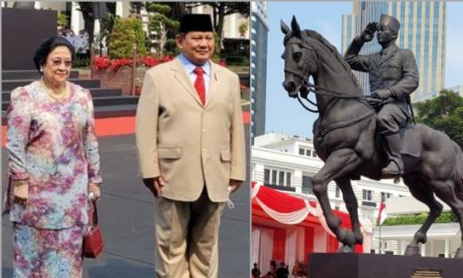 Pengamat: Prabowo Sedang Menjinakkan Megawati Melalui Patung Soekarno