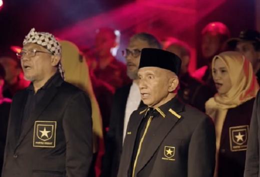 Hasil Survei: Partai Ummat Amien Rais Kalah Populer dari Gelora