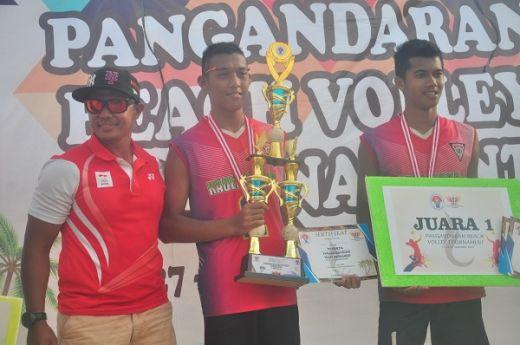 PPFI Membangun Olahraga Voli Pantai di Pangandaran