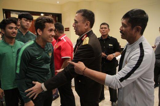 Timnas Sepakbola Indonesia Matangkan Persiapan