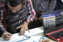 Selisih Tingkat Pengangguran Jakarta dan Kepri