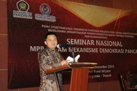 Sesjen MPR: Desain Ketatanegaraan Harus Sesuai dengan Ideologi Pancasila