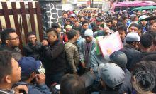 Terkait Upah dan Pemotongan Uang Iuran, 700 Karyawan Geruduk Pabrik Susu Ultrajaya