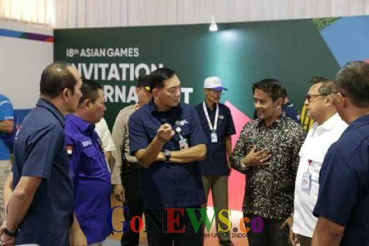 Penyambutan Atlet dan Ofisial Asian Games 2018 Invitation Tournament Dipastikan Berjalan Lancar