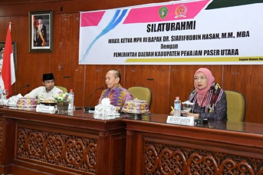 Wakil Ketua MPR Serap Aspirasi di Kabupaten Calon Ibu Kota Negara