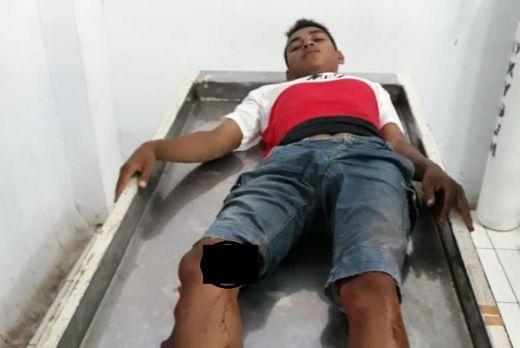 Polres Bitung Cokok Dua Pelaku yang Diduga Membunuh Nelayan dengan Badik