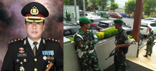 Komandannya Dituding Curi HP Milik Polisi Berpangkat AKBP, Prajurit TNI Kepung Hotel Dafam Cilacap