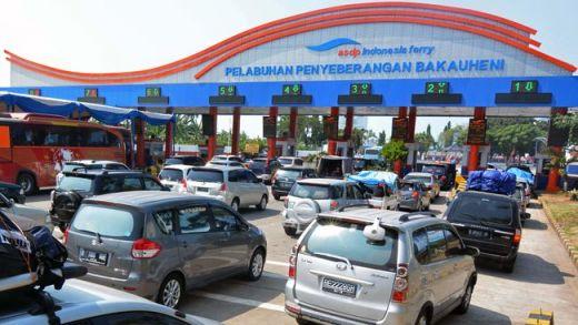 Kemacetan Mulai Mengular saat Arus Balik di Pelabuhan Bakauheni