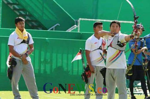 Tundukkan Taipei, Panahan Putra Indonesia Hadapi Amerika di Perempat Final