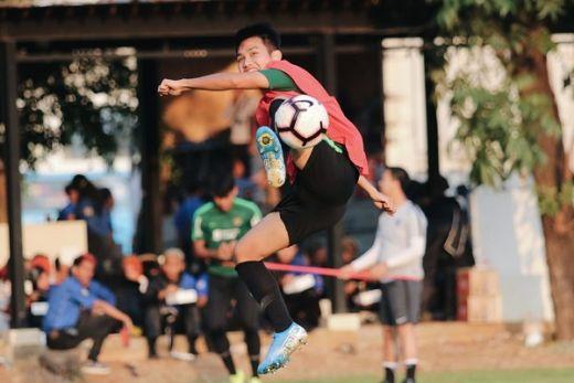 Indra Sjafri Fokuskan Latihan Taktik Menyerang