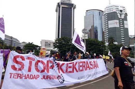 Polisi Tolak 2 Laporan Jurnalis Korban Kekerasan Oknum Aparat Saat Demo di DPR