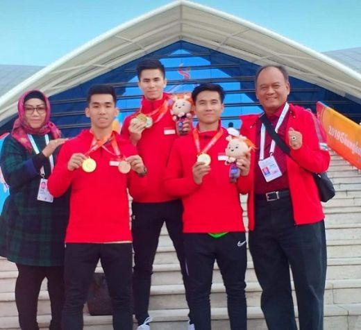 PB WI Apresiasi Kebijakan Menpora Berikan Bonus Peraih Medali Kejuaran Dunia