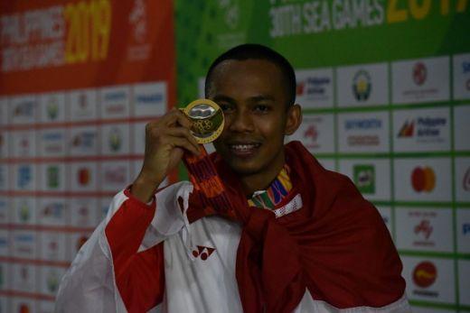 Sapwaturrahman Pecahkan Rekor Lompat Jauh SEA Games
