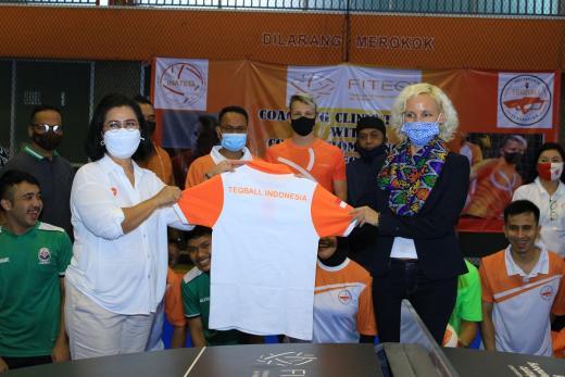 Dubes Hungaria Yakin Olahraga Teqball Berkembang di Indonesia