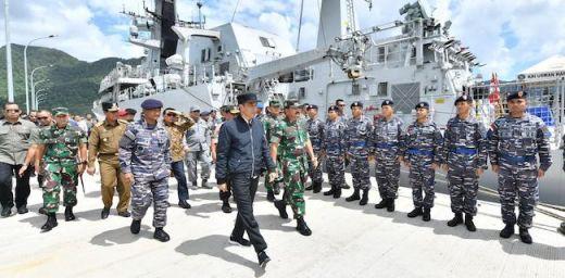Ke Natuna, Jokowi Bilang Tidak Ada Kapal Asing Masuk Teritori Indonesia