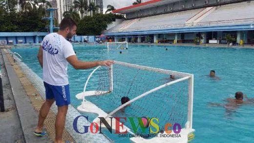 Jelang SEA Games 2017, Pelatih Serbia Pimpin Pelatnas Polo Air Putra