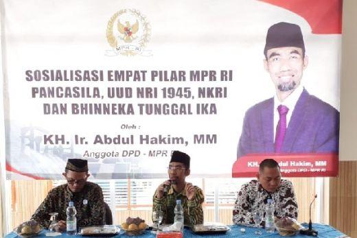 Sosialisasi 4 Pilar, Abdul Hakim Bawa Inspirasi Al-Quran