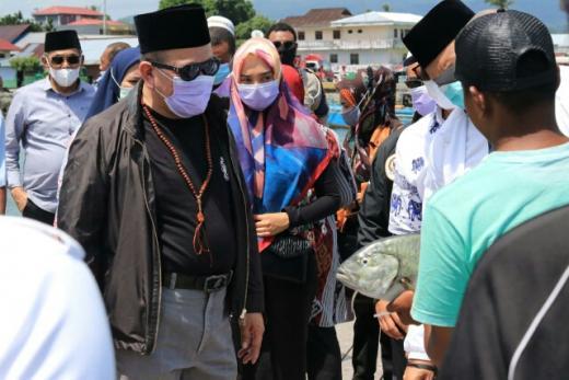 Jadi Sentra Pertemuan Pedagang Ikan, Ketua DPD Yakin Pesantren Bisa Bangkitkan Ekonomi Rakyat