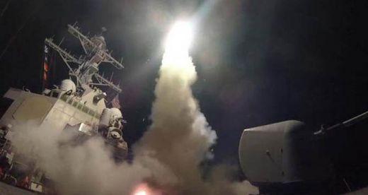 Perang Dimulai di Syria, AS Luncurkan 59 Rudal