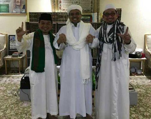 Bertemu di Mekkah, Habib Rizieq Apresiasi dan Dukung Kemenangan PKS di Pileg dan Pilpres 2019