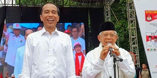 Ngaku Sulit Hitung Jumlah Massa di Tangerang, Maruf Amin: Sampai 3 Kilometer