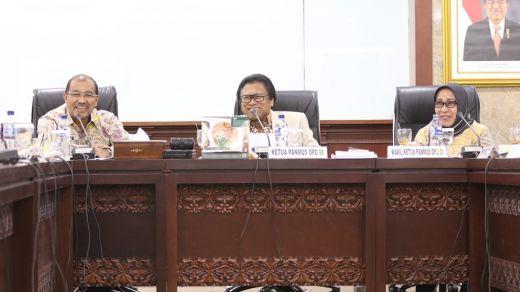 Pasca Dilantik, Pimpinan DPD RI Langsung Bekerja Cepat