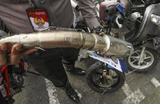 Soal Motor Ducati Knalpot Standar Ditilang, Ini Penjelasan Polri