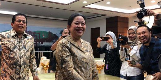 Sambangi Media Center, Puan Maharani Siap Jadikan DPR Rumah Rakyat Termasuk bagi Pendemo