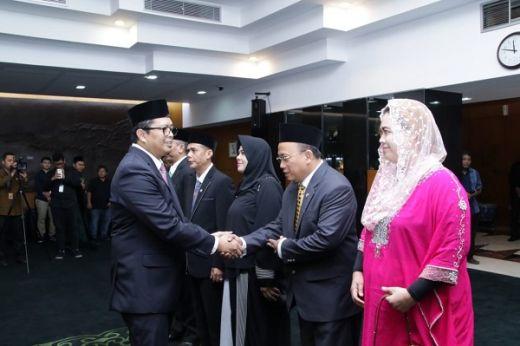 Lantik Tiga Anggota MPR PAW, Mahyudin: Meski Dekat Pemilu 2019 Anggota Harus Tetap Semangat Jalankan Tugas MPR