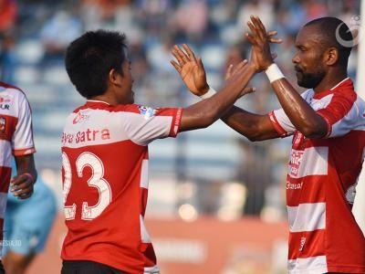 Madura United Perbaiki Peringkat Usai Kalahkan Persela