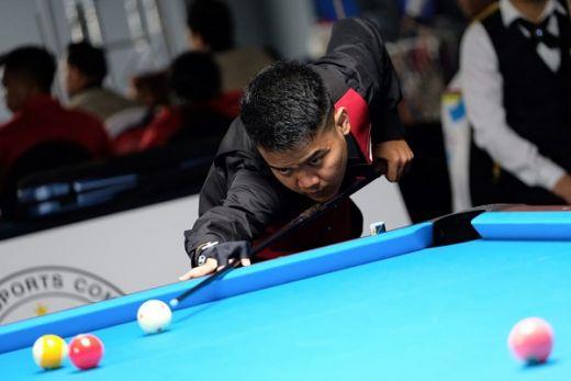 Ismail Kadir Melaju ke Semifinal Nomor Bola 10 Single