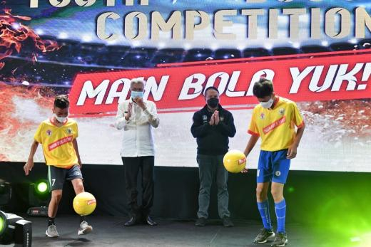Giliran Palembang Tempat Youth Fun Juggling Competition