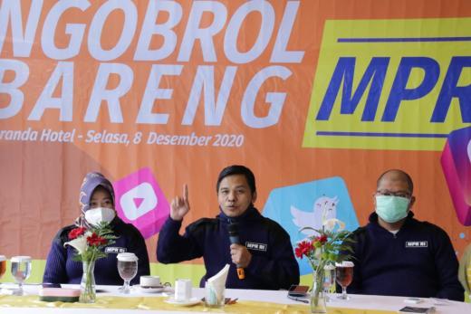 Ngobrol Bareng Warganet, Sesjen MPR: Sosialisasi 4 Pilar Itu Tugas Mulia