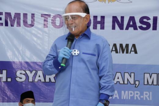 Tragedi Tewasnya 6 Laskar FPI, Syarief Hasan Ajak Masyarakat Tetap Tenang
