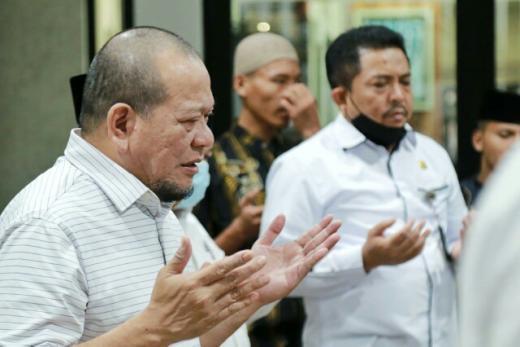 Srwijaya Air SJ 182 Jatuh, Ketua DPD RI Doakan Keluarga Penumpang Diberi Ketabahan