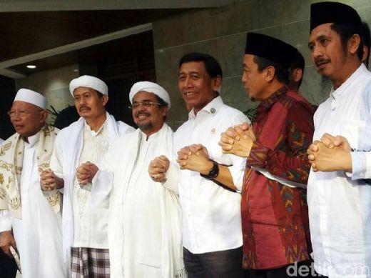 Disambangi Ulama dan Habib Rizieq, Wiranto Mengaku Nostalgia dan Kawan Lama
