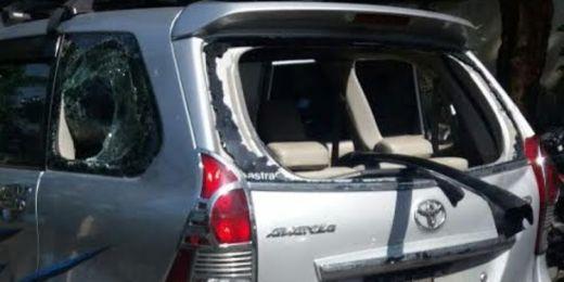 Disangka Taxi Oline, Mobil Avanza Pembawa Bayi Usia 1 Tahun, Diamuk Massa di Bandung